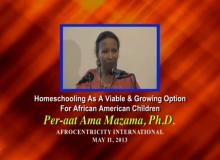 Homeschooling for African Children